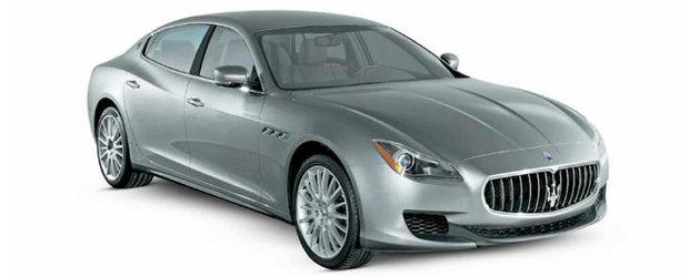 Sa fie acesta noul Maserati Quattroporte?