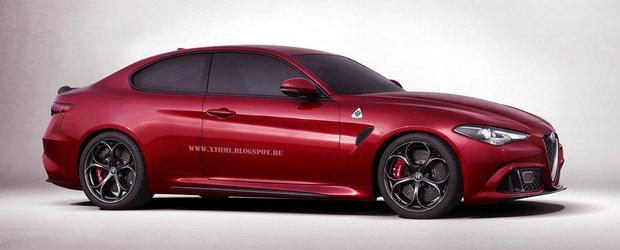 Sa fie asta raspunsul italienilor la BMW-ul Seria 4?