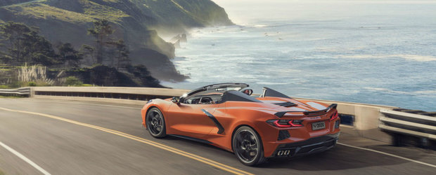 Sa fie chilipirul anului? Acesta este noul Corvette C8 Convertible, decapotabila cu V8 si pret de hot-hatch