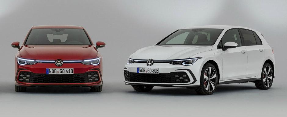 Sa fie doar pe benzina sau sa aiba si motor electric? Volkswagen prezinta oficial noile Golf GTI si GTE