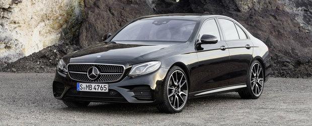 Sa-nceapa nebunia: Mercedes condimenteaza noul E-Class cu un V6 bi-turbo de 401 CP