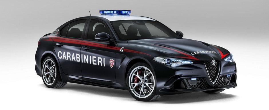 Sa nu zici ca nu ti-am spus! Politia din Italia tocmai a primit pe maini o masina de 510 CP