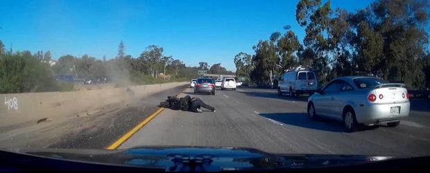 Sa pui frana brusca doar pe roata din spate cu motocicleta nu este deloc o idee buna