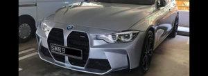 Sa tunezi un F30 cu grila noului M4 Coupe pare o idee tare proasta. FOTO ca sa te convingi si singur