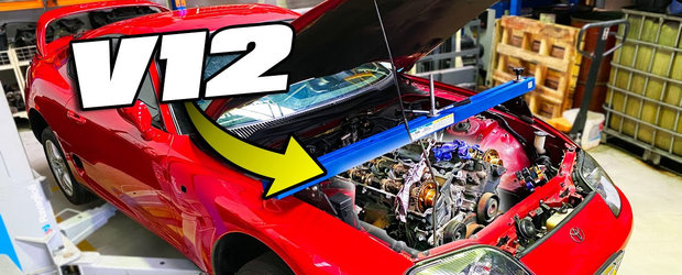 Sa vezi si sa nu crezi: in Australia se lucreaza la o Toyota Supra cu motor V12 twin-turbo!