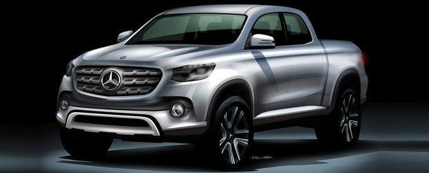 Sa vina... camioneta. Planurile Mercedes pentru 2017 anunta de toate pentru toti