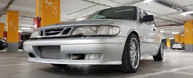 Saab-ul care a bagat frica in BMW-urile croate e acum de vanzare pe internet. Cat costa suedeza cu 480 de cai sub capota