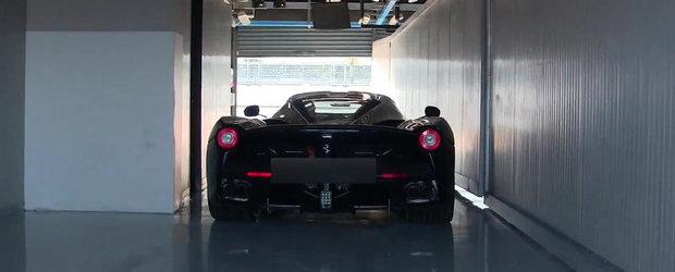Sacrilegiu: Un Ferrari LaFerrari ruleaza... doar pe baterii!