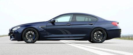 Sageata Albastra. Noul BMW M6 de la G-Power are 740 CP si sprinteaza pana la 325 km/h.