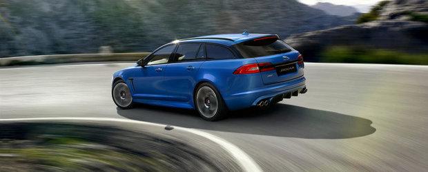 Sah la Audi RS6 Avant: Jaguar dezvaluie noul XFR-S Sportbrake!