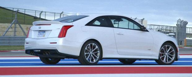 Sah la BMW M4: Primele impresii de la volanul noului Cadillac ATS-V