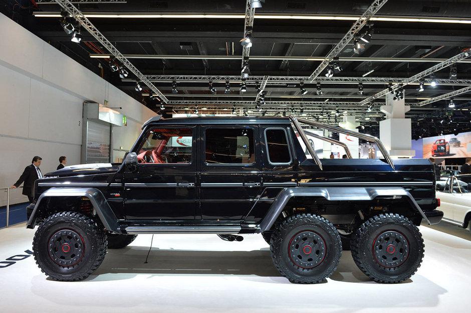 Salonul Auto de la Frankfurt 2013: Brabus B63S - 700 6x6