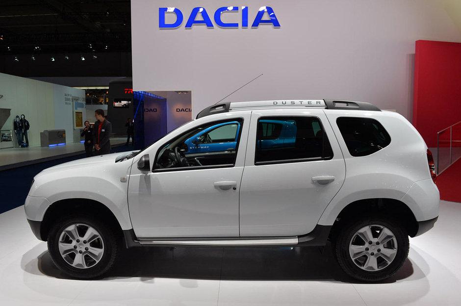 Salonul Auto de la Frankfurt 2013: Dacia Duster Facelift
