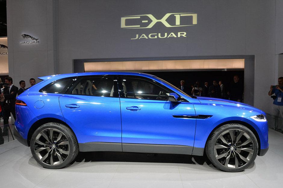Salonul Auto de la Frankfurt 2013: Jaguar C-X17 Concept