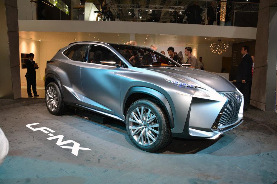 Salonul Auto de la Frankfurt 2013: Lexus LF-NX Concept