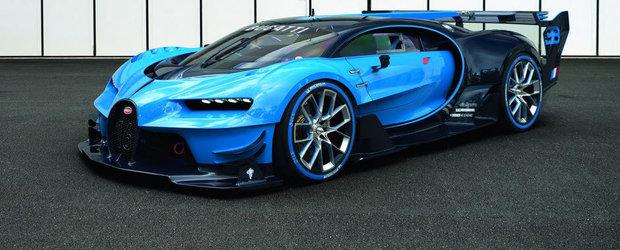 Salonul Auto de la Frankfurt 2015: Bugatti Vision Gran Turismo devine realitate
