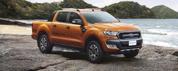 Salonul Auto de la Frankfurt 2015: Ford Ranger facelift