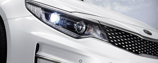 Salonul Auto de la Frankfurt 2015: Kia Optima, cu noi motoare si tehnologii