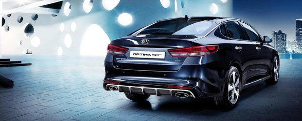 Salonul Auto de la Frankfurt 2015: Kia Optima GT se lauda cu un 2.0 de 245 CP