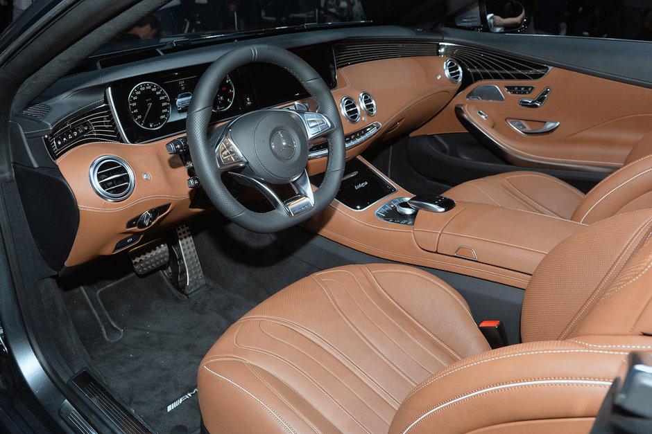 Salonul Auto de la Frankfurt 2015: Mercedes S-Class Cabriolet