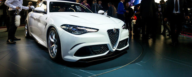 Salonul Auto de la Frankfurt 2015: Noua Alfa Romeo Giulia QV, imagini reale