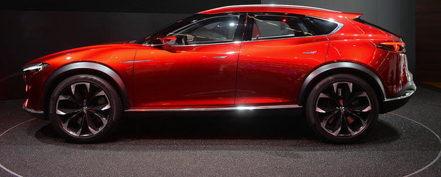 Salonul Auto de la Frankfurt 2015: Noua Mazda Koeru, imagini reale