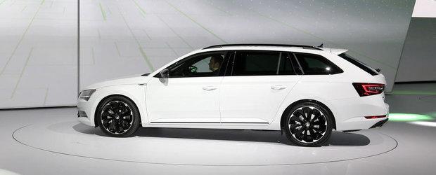 Salonul Auto de la Frankfurt 2015: Noua Skoda Superb Sportline, imagini reale