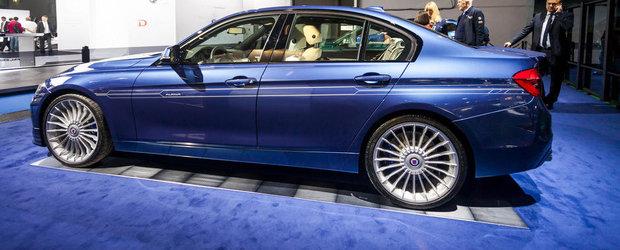 Salonul Auto de la Frankfurt 2015: Noul Alpina B3 Facelift, imagini reale