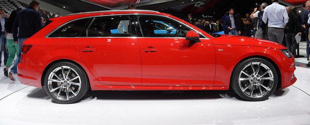 Salonul Auto de la Frankfurt 2015: Noul Audi A4, imagini reale