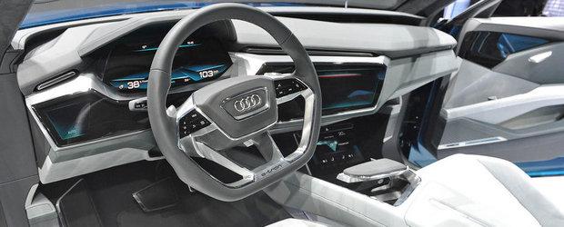 Salonul Auto de la Frankfurt 2015: Noul Audi E-Tron Quattro Concept, imagini reale