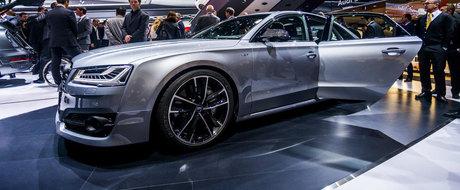 Salonul Auto de la Frankfurt 2015: Noul Audi S8 Plus, imagini reale