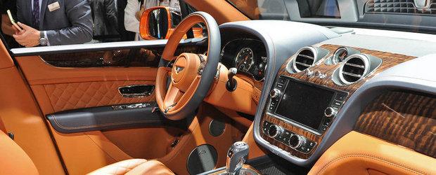 Salonul Auto de la Frankfurt 2015: Noul Bentley Bentayga, imagini reale