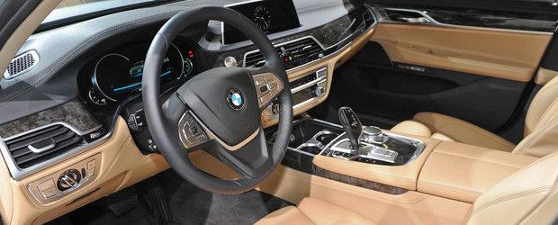 Salonul Auto de la Frankfurt 2015: Noul BMW Seria 7, imagini reale