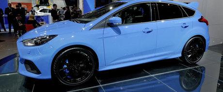 Salonul Auto de la Frankfurt 2015: Noul Ford Focus RS, imagini reale