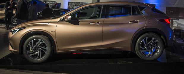 Salonul Auto de la Frankfurt 2015: Noul Infiniti Q30, imagini reale