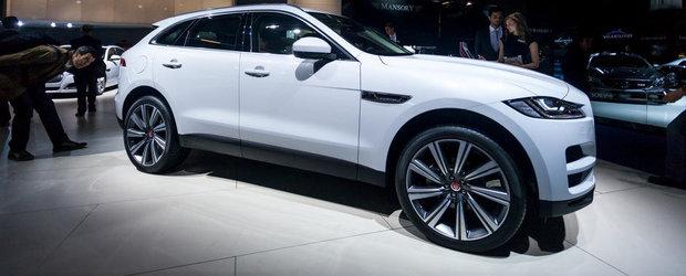 Salonul Auto de la Frankfurt 2015: Noul Jaguar F-Pace, imagini reale