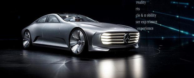 Salonul Auto de la Frankfurt 2015: Noul Mercedes IAA, imagini reale