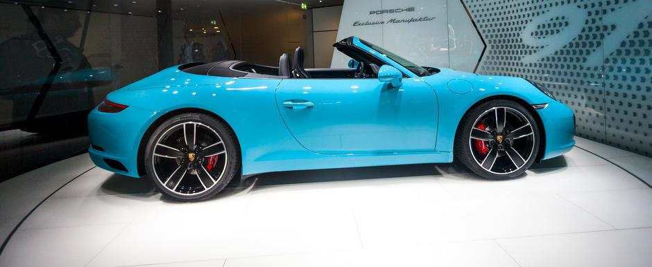 Salonul Auto de la Frankfurt 2015: Noul Porsche 991 Facelift, imagini reale