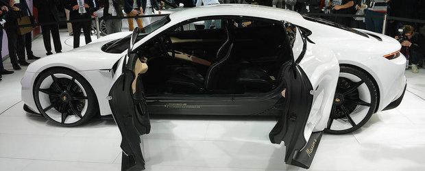 Salonul Auto de la Frankfurt 2015: Noul Porsche Mission E, imagini reale