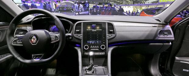 Salonul Auto de la Frankfurt 2015: Noul Renault Talisman, imagini reale
