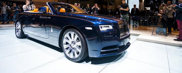 Salonul Auto de la Frankfurt 2015: Noul Rolls-Royce Dawn, imagini reale