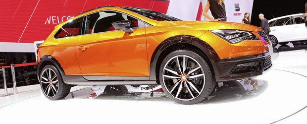 Salonul Auto de la Frankfurt 2015: Noul Seat Leon Cross Sport, imagini reale