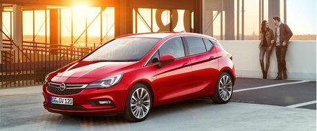 Salonul Auto de la Frankfurt 2015: Opel lanseaza noua generatie Astra