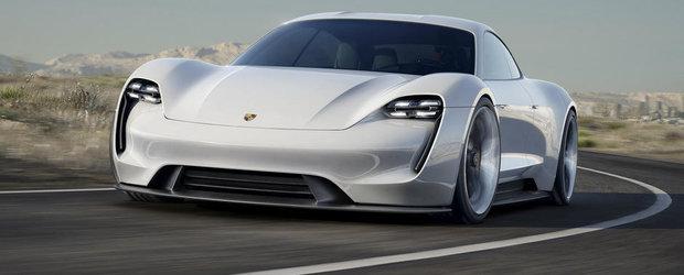 Salonul Auto de la Frankfurt 2015: Porsche Mission E tinteste spre Tesla Model S