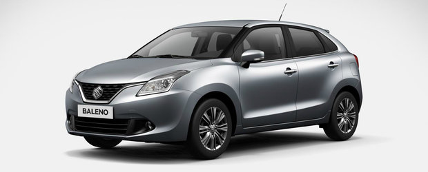 Salonul Auto de la Frankfurt 2015: Suzuki Baleno, noul hatchback japonez