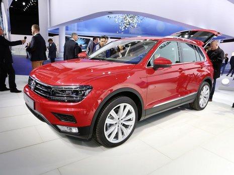 Salonul Auto de la Frankfurt 2015: Volkswagen Tiguan