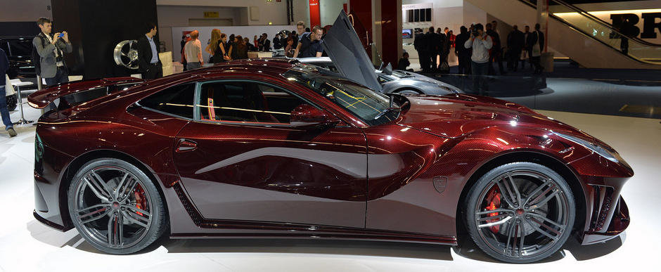 Salonul Auto de la Frankfurt: Cele mai tari proiecte de tuning de la Frankfurt Motor Show 2013