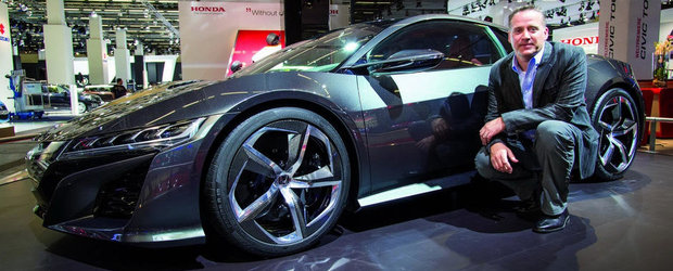 Salonul Auto de la Frankfurt: Interviu cu Ted Klaus, omul din spatele noii Honda NSX