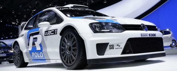 Salonul Auto de la Frankfurt: Volkswagen Polo R WRC, mica bestie de 300 cp