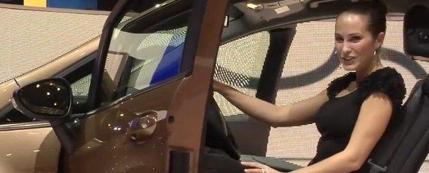 Salonul Auto de la Geneva 2012: masina made in Romania, prezentata de un fotomodel